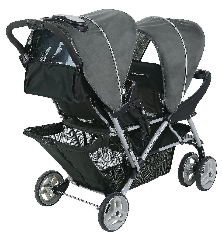 amazon com graco duoglider click connect stroller glacier baby