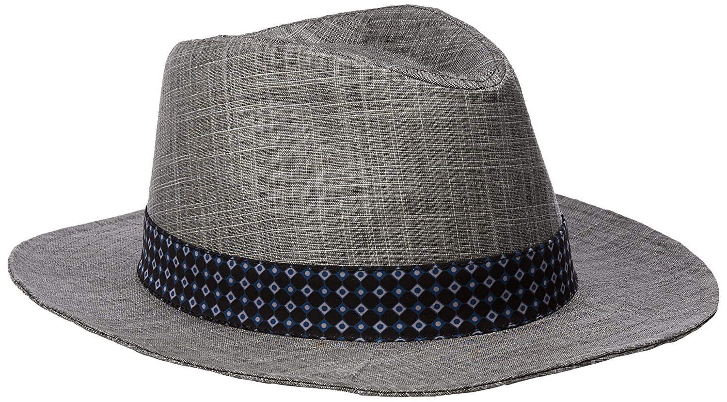 Ben Sherman Men's Textured Linen Trilby Hat Ben Sherman Headwear BS4981