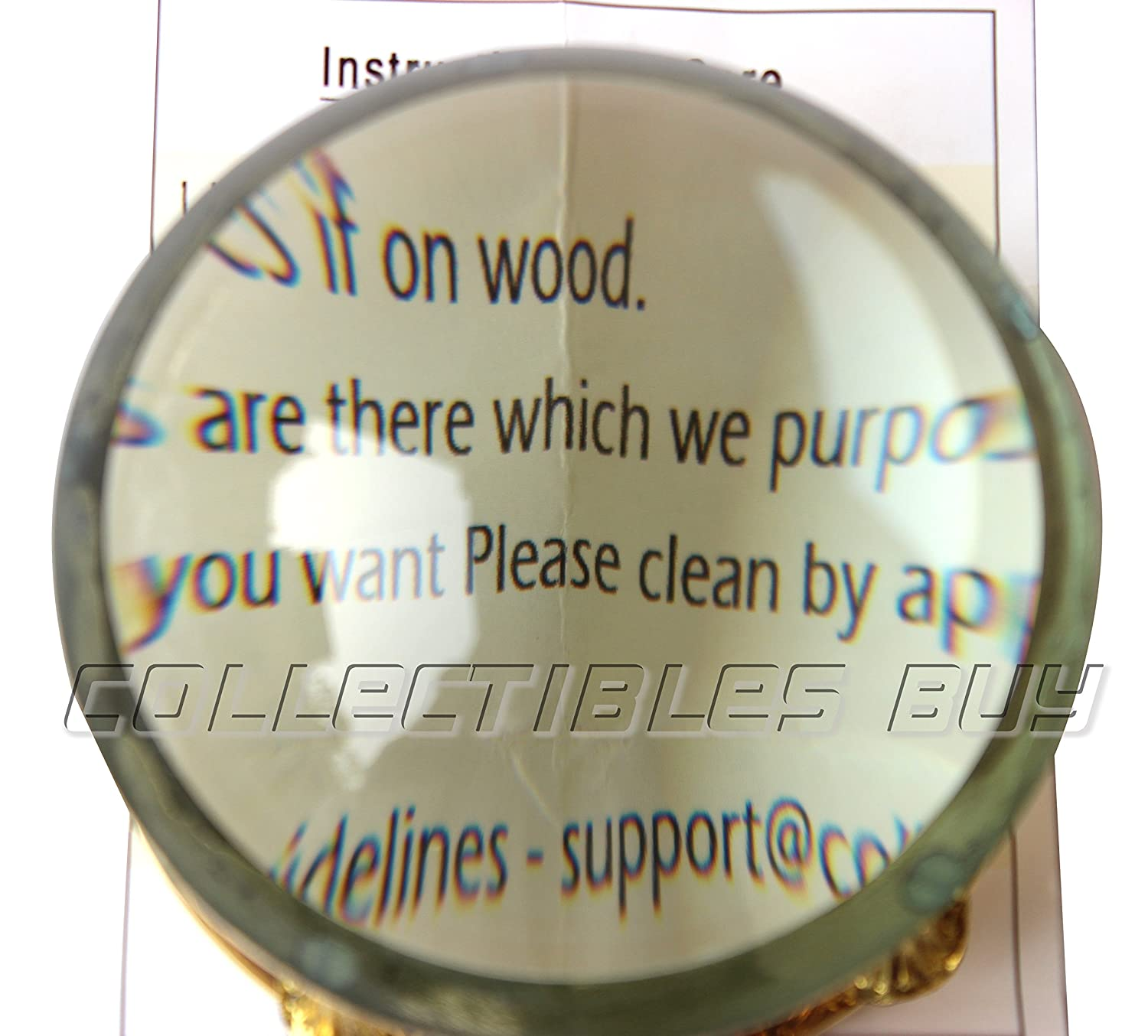 Vintage Home /& Office Table Decorative Marine Brass Magnifying Glass Nautical Map Reader Handmade Authentic Royal Design Magnifier