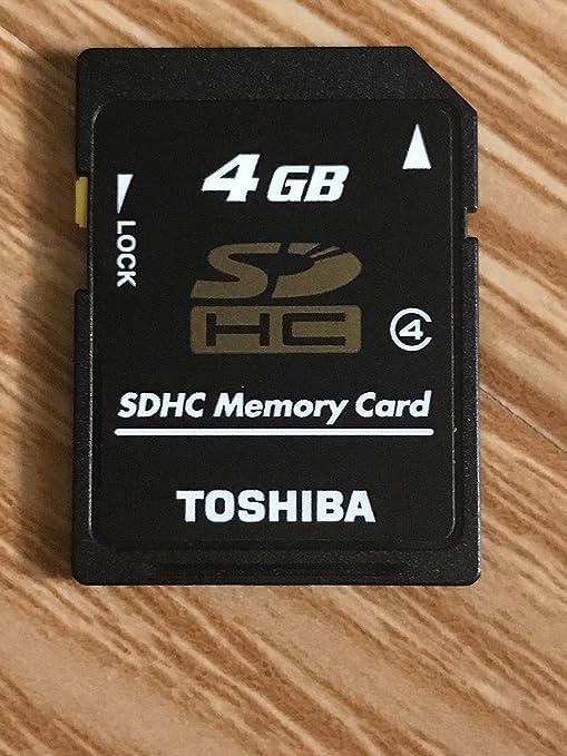 Amazon.com: Toshiba 4 GB SDHC Tarjeta de memoria de alta ...