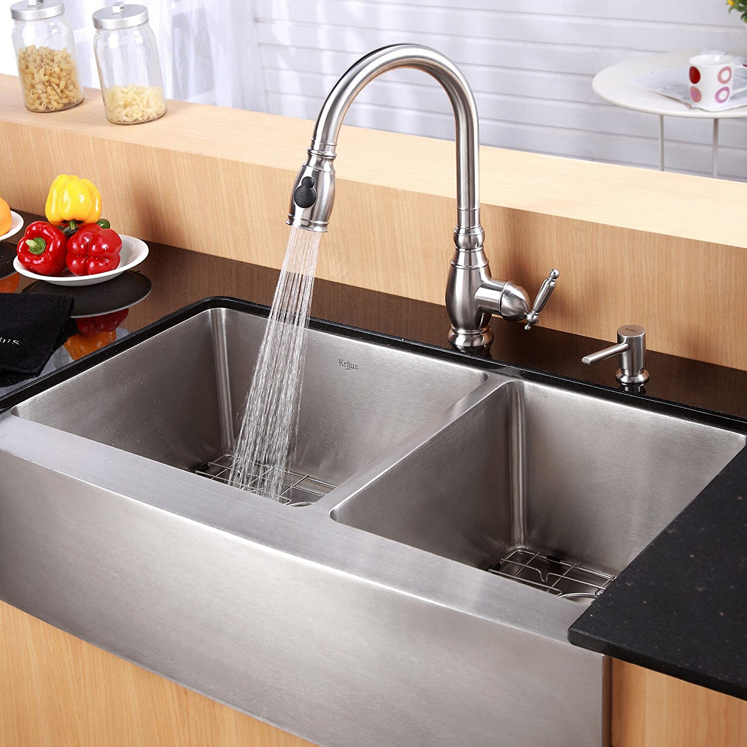 stainless steel kitchen sink reviews