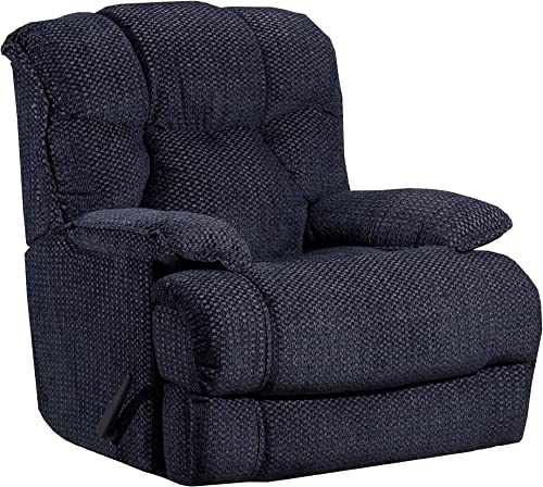 Lane Home Furnishings Swivel Rocker Recliner, Slate