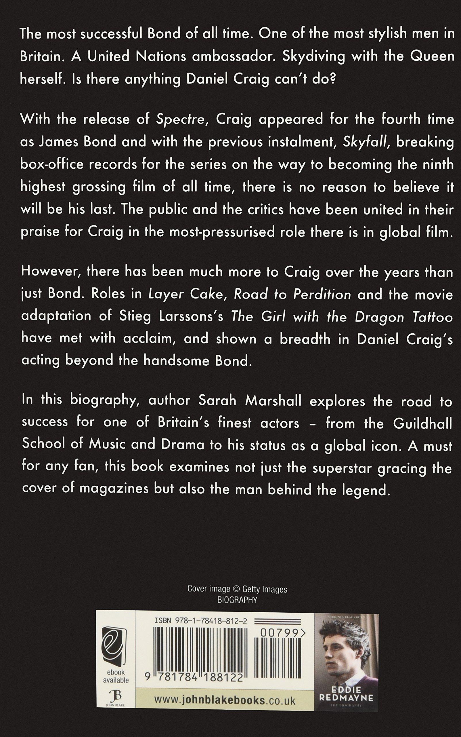 Daniel Craig The Biography Sarah Marshall Amazon