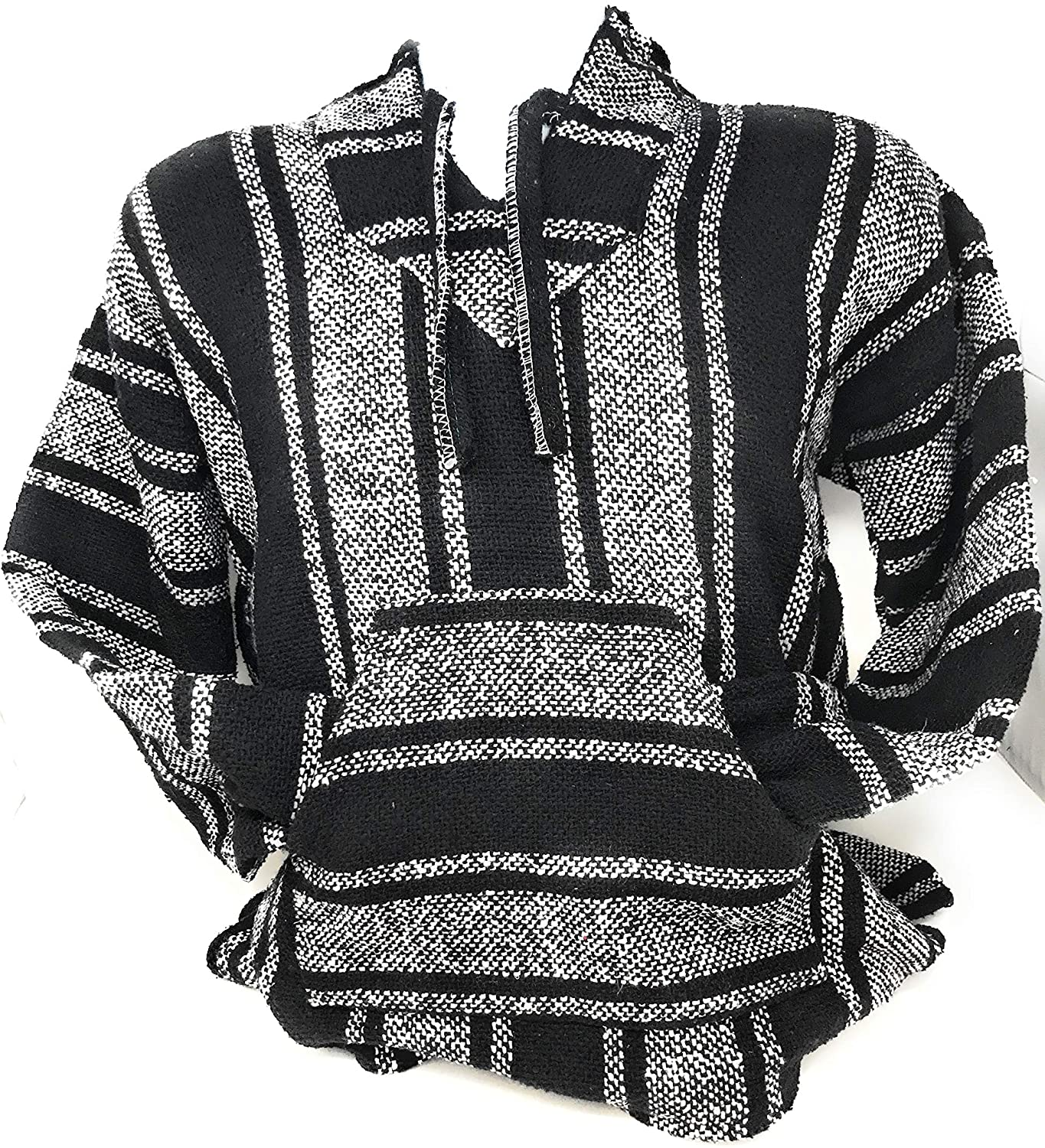 Mexitems Authentic Mexican Baja Hoodie Sweater Pullover