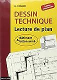 dessin technique et lecture de plan henri renaud livres. Black Bedroom Furniture Sets. Home Design Ideas