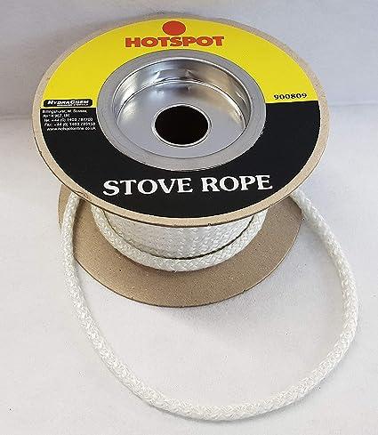 6 mm Estufa cuerda sello de juntas para chimeneas, diseño de cocinas puerta & cristal