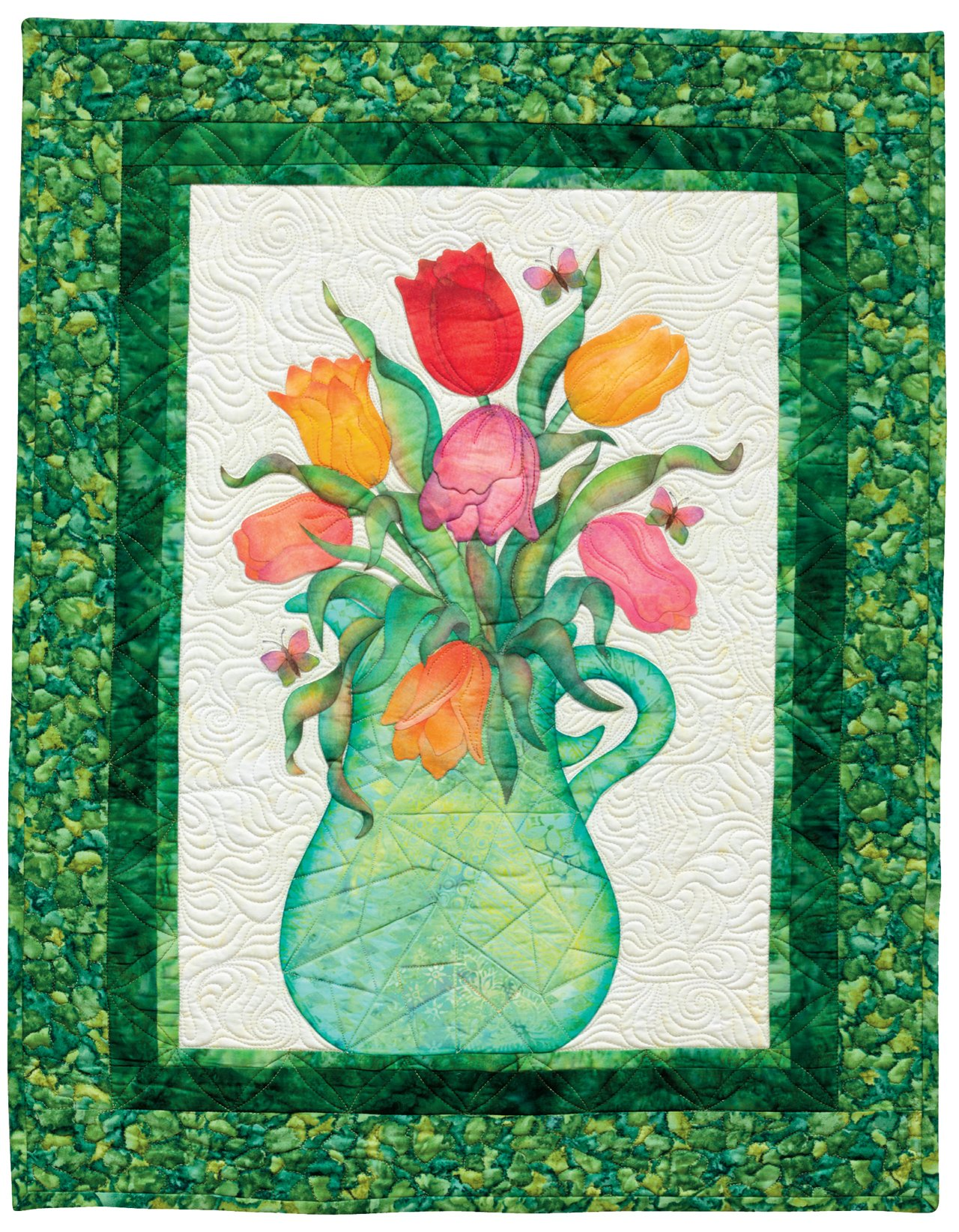 Creative Quilts from Your Crayon Box: Melt-n-Blend Meets Fusible Applique by That Patchwork Place (Image #6)