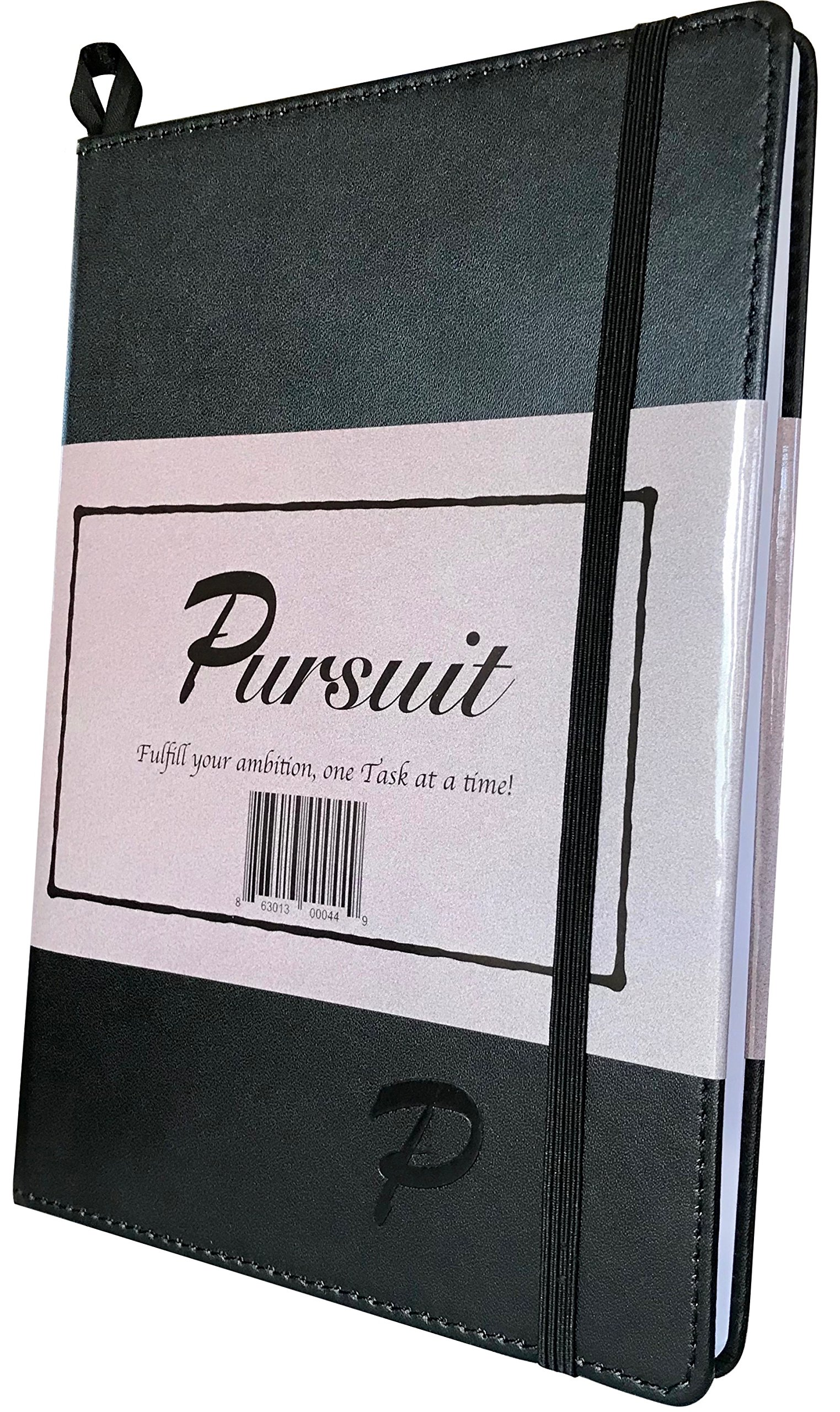 Pursuit Goal Journal - A Unique, Down-to-Earth Method for Productivity, Motivation, Mindfulness, and Goal Planning.