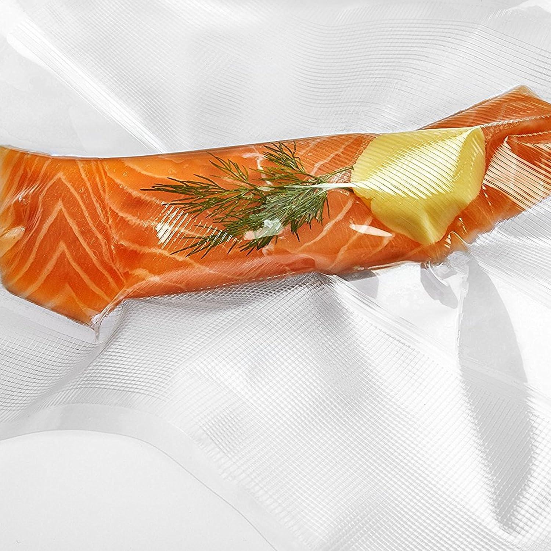Andrew James Sac Sous Vide Adapté au Lave-vaisselle Congélateur Microonde Rouleau de Film Plastique 40cm x 10m Alimentaire Congelation Reutilisable