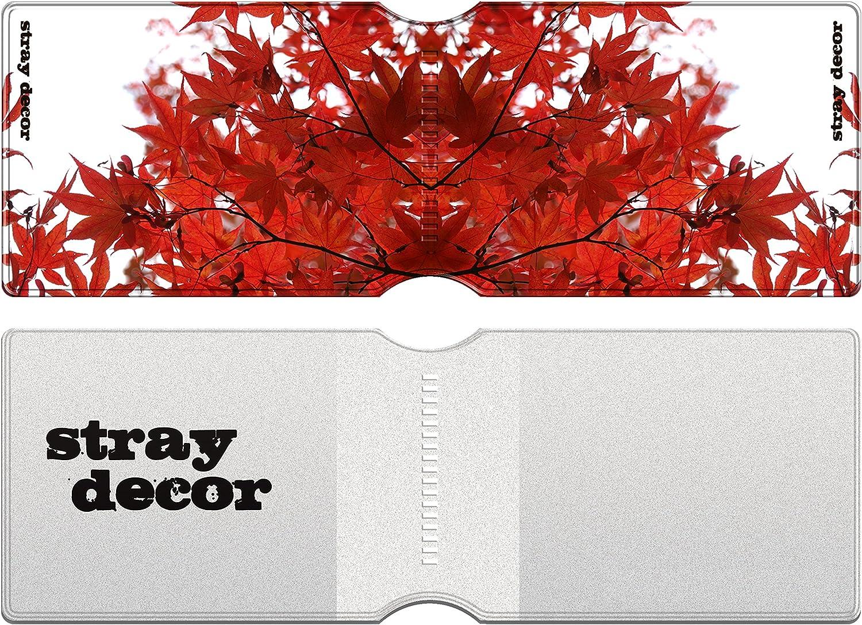 Passe dautobus Cartes de Cr/édit Autumn Leaves Navigo Pass /Étui /à Cartes//Porte-Cartes pour Titres de Transport Stray Decor Passe Navigo et Moneo