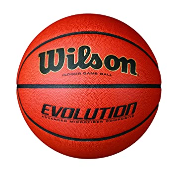Wilson Pelota, Basketball Evolution Game, Braun, 7, Naranja, 7: Amazon.es: Deportes y aire libre