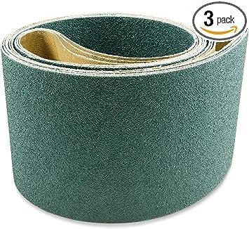 2 x 72 Inch High Quality AZ-Zirc Sanding Belt 40 Grit 8pcs