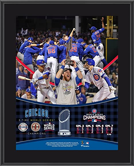 d0478a7aa Chicago Cubs 2016 MLB World Series Champions 10.5