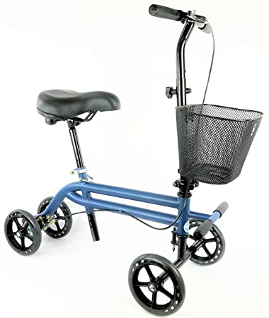 Amazon Com Evolution Steerable Seated Scooter Mobility Knee Walker
