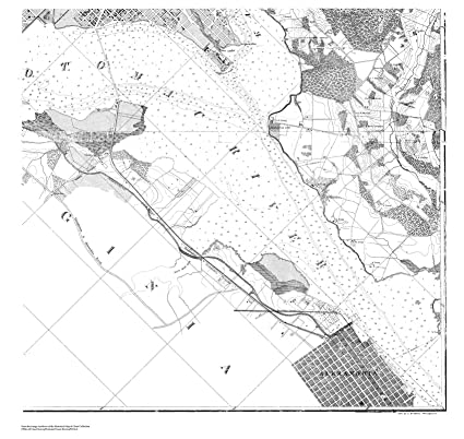 Se Dc Map.Amazon Com Vintography 18 X 24 Canvas 1861 Us Old Nautical Map