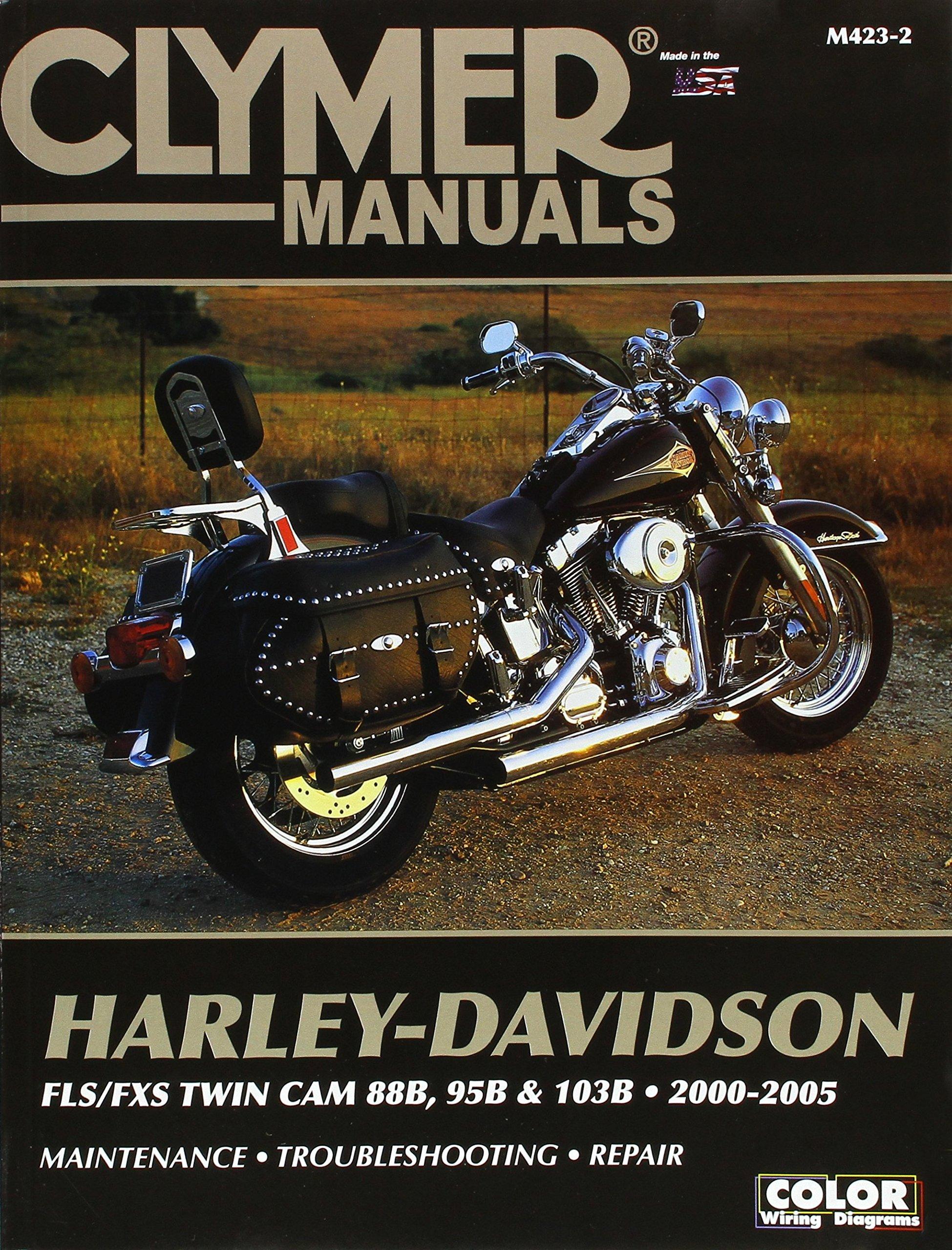 Clymer Harley Davidson Fls Fxs Twin Cam 88b 95b 103b 2000 2005 Wiring Diagram Penton Staff 9780892879625 Books