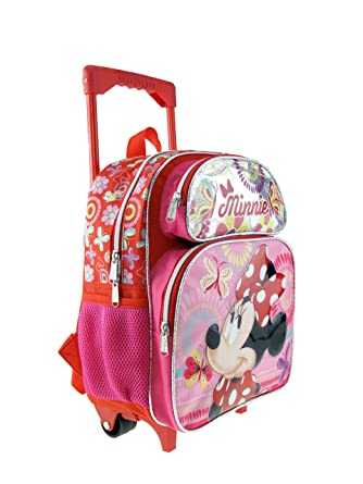 54dd752894 Image Unavailable. Image not available for. Color  Minnie Mouse Toddler  Rolling 12 quot  Backpack ...
