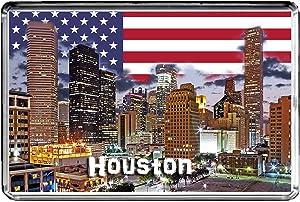 USA E315 Houston Fridge Magnet Travel Photo Refrigerator Magnet