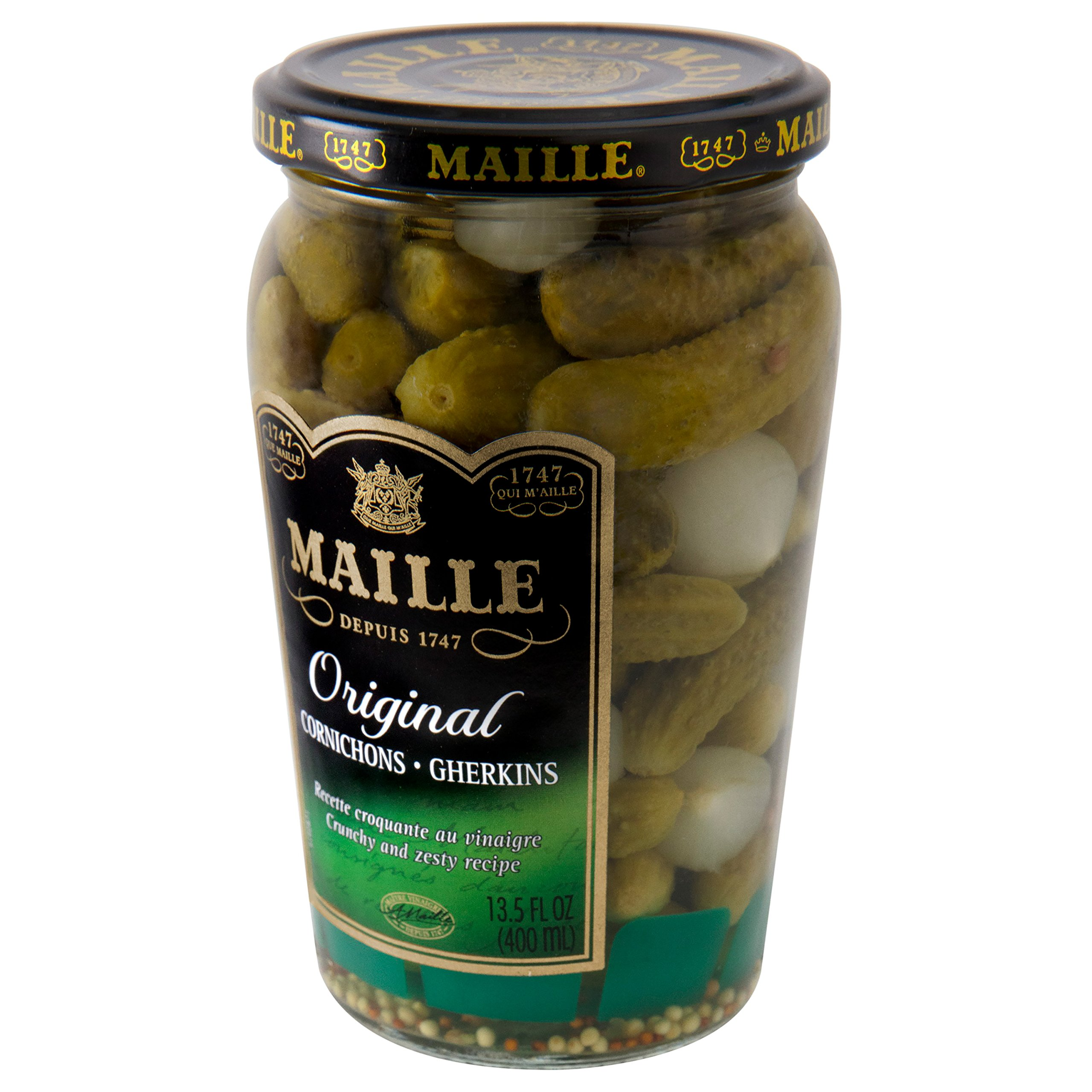 Maille Pickles, Cornichons Original, 13.5 oz, Pack of 12 by Maille (Image #6)