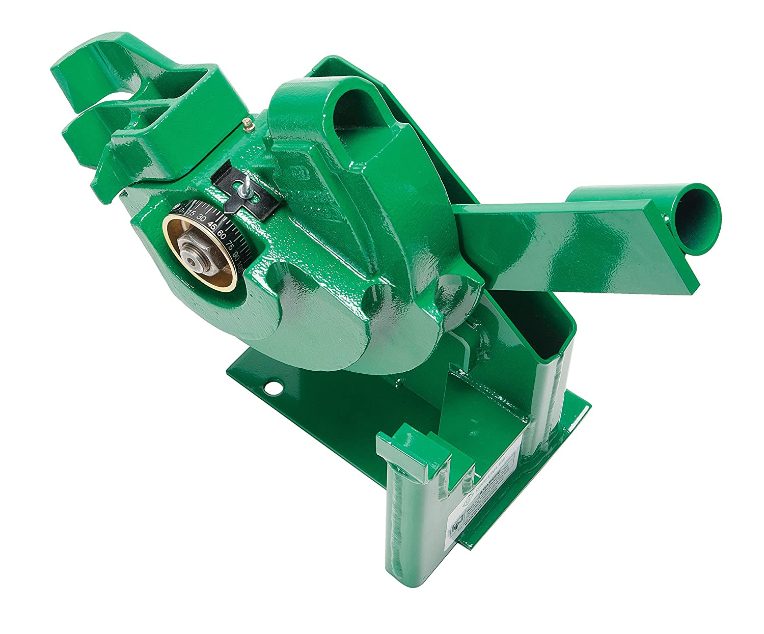 Greenlee 1800 Mechanical Bender for 1/2, 3/4, and 1-Inch IMC and Rigid  Conduit with Undercarriage - Rebar Cutters And Benders - Amazon.com