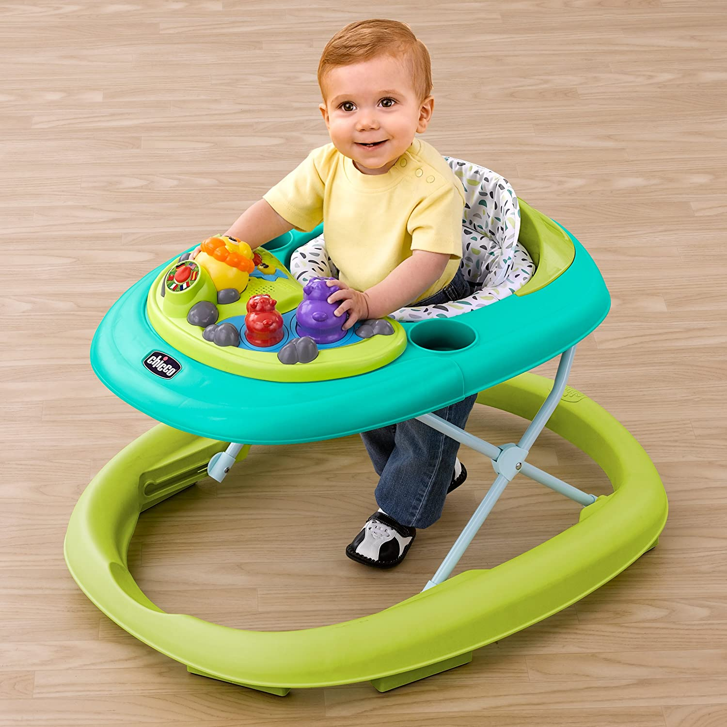 Amazon.com: Chicco Walky Talky Baby Walker, Flora, Primavera ...