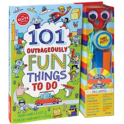 Klutz 101 Outrageously Fun Things to Do Activity Kit: Editors of Klutz: Toys & Games