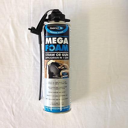 Bond It Mega Foam Pistola de espuma expansiva de poliuretano para rellenar huecos