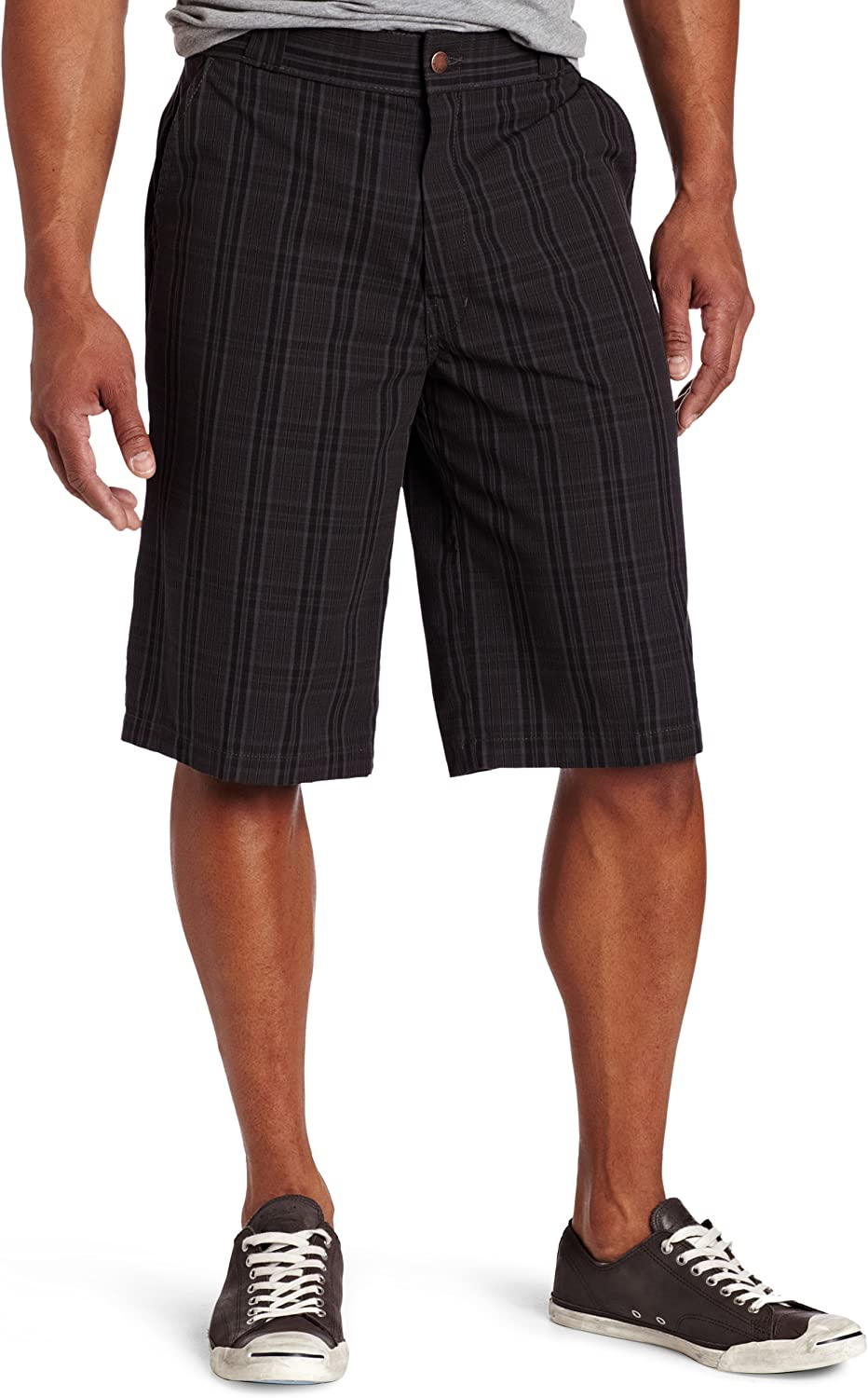 "Dickies Men's 13"" Plaid Short Big-Tall"