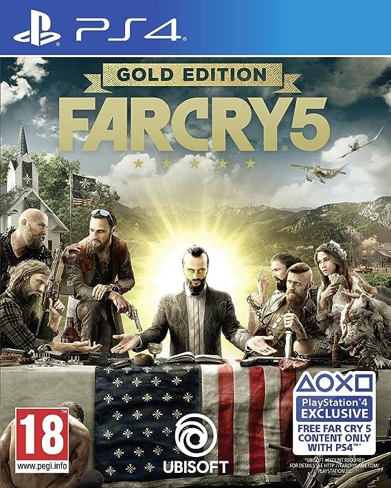 Far Cry 5 Gold Edition - PlayStation 4 [Importación inglesa]: Amazon.es: Videojuegos