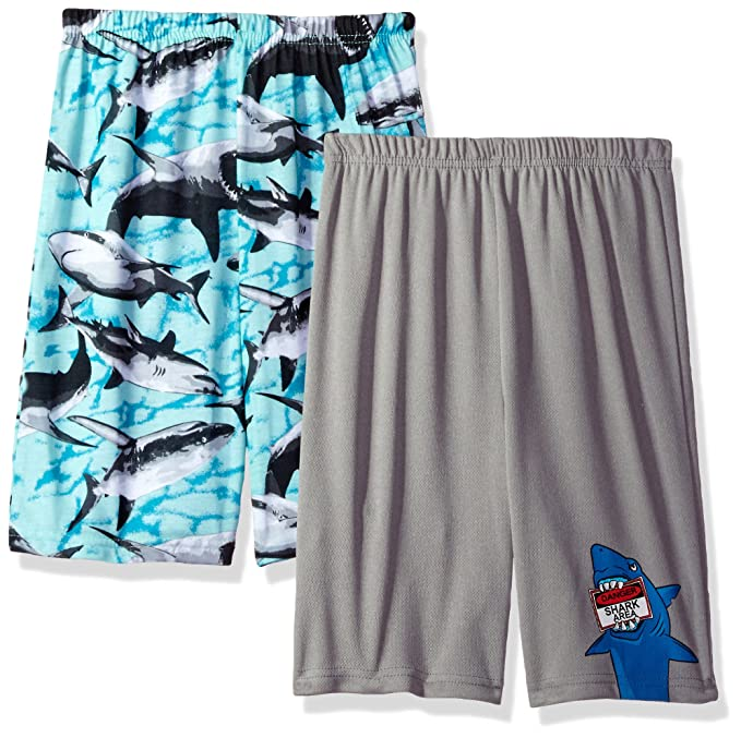 3b8829665 Amazon.com  Komar Kids Boys  Big 2 Pack Jersey Pajama Shorts  Clothing