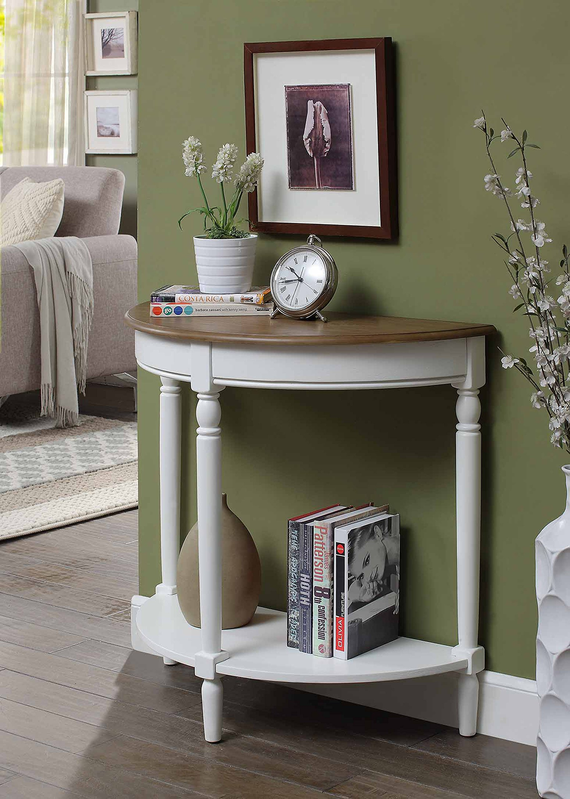 Convenience Concepts 6042182DFTW Entryway Table, Driftwood