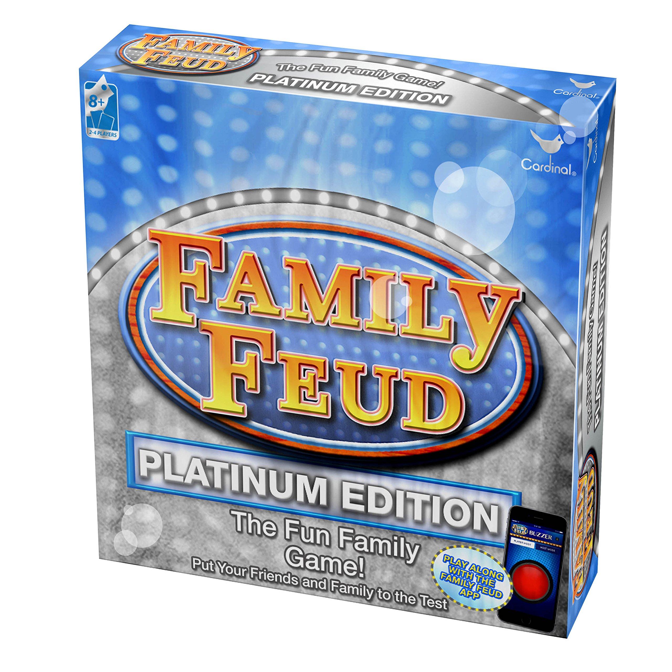 Cardinal Platinum Family Feud Signature Game