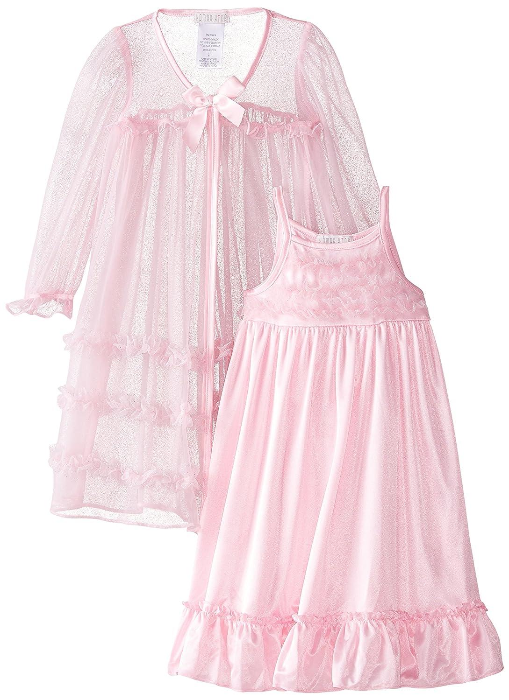 Amazon.com: Komar Kids Little Girls\' Pink Peignoir Gown Set: Clothing