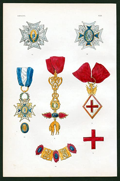 Gráficos Espagne – Espana Spain España Orden Medal Decoration Medalla destincion: Amazon.es: Juguetes y juegos