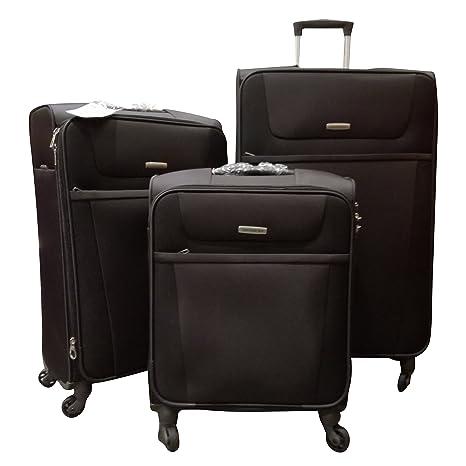 Samsonite - Juego de maletas negro negro: Amazon.es: Equipaje