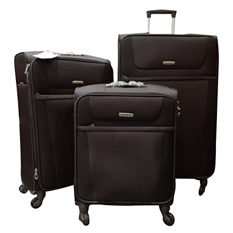 Samsonite - Juego de maletas negro negro