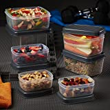 Jaxx FitPak All Day Meal Prep Leak-Proof Container Set