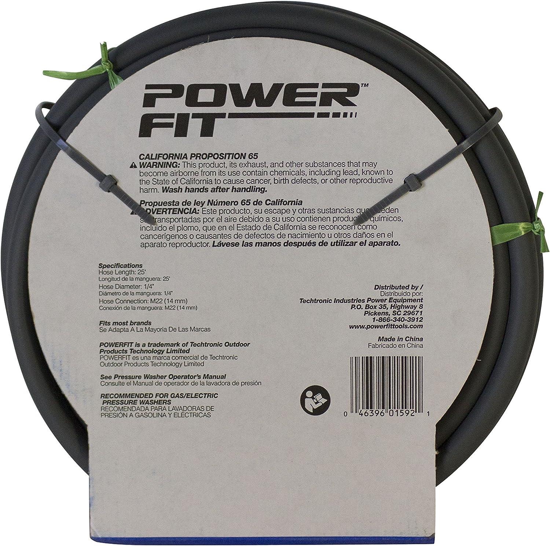Powerstroke Series PF31014B 25Ft Pressure Washer Hose