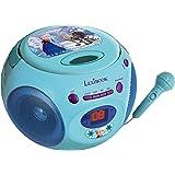 Lexibook - RCD102FZZ Lecteur CD avec micro La Reine des Neiges