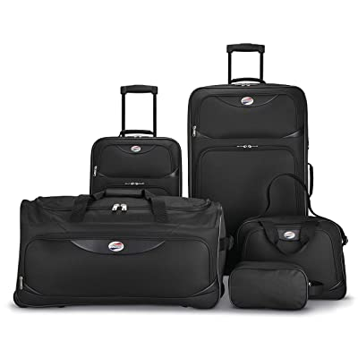 American Tourister 5-Piece Softside Luggage Set