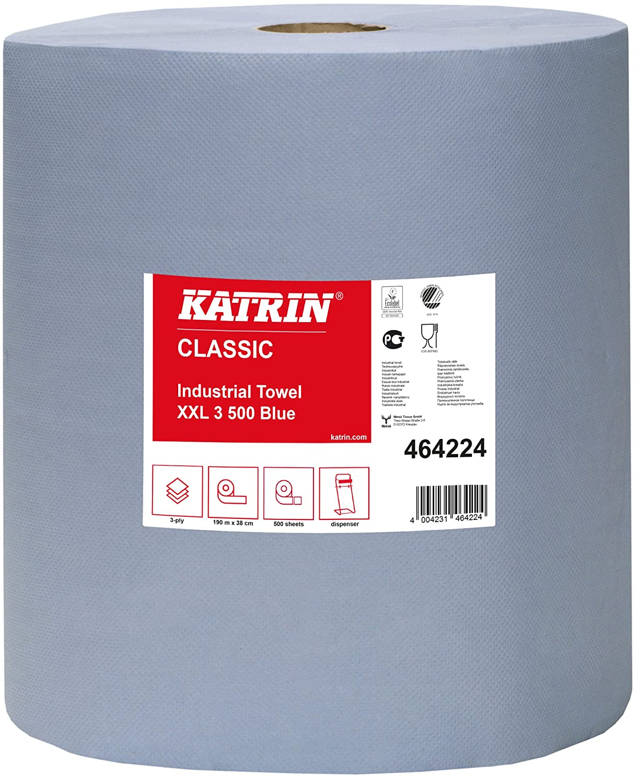 Katrin afk224-b Classic Industrial toalla, 3 capas, laminado, paleta ...