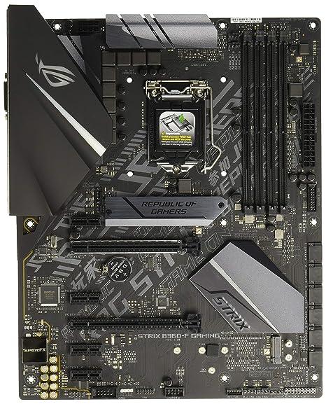 ASUS ROG Strix B360-F Gaming LGA1151 (300 Series) DDR4 DP HDMI DVI M 2 ATX  Motherboard