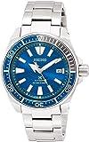 [セイコーウォッチ] 腕時計 プロスペックス メカニカル Save the Ocean Special Edition ブルー文字盤 サムライ Samurai SBDY029 メンズ シルバー