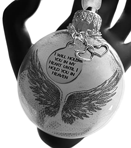 Angel Baby in Heaven Above Baby Loss Remembrance Gift Silver Double Wings Angel