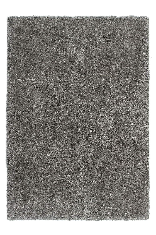 Lalee  347160587  Hochwertiger Teppich   Shaggy Art   Weich   Platin   Grösse   160 x 230 cm