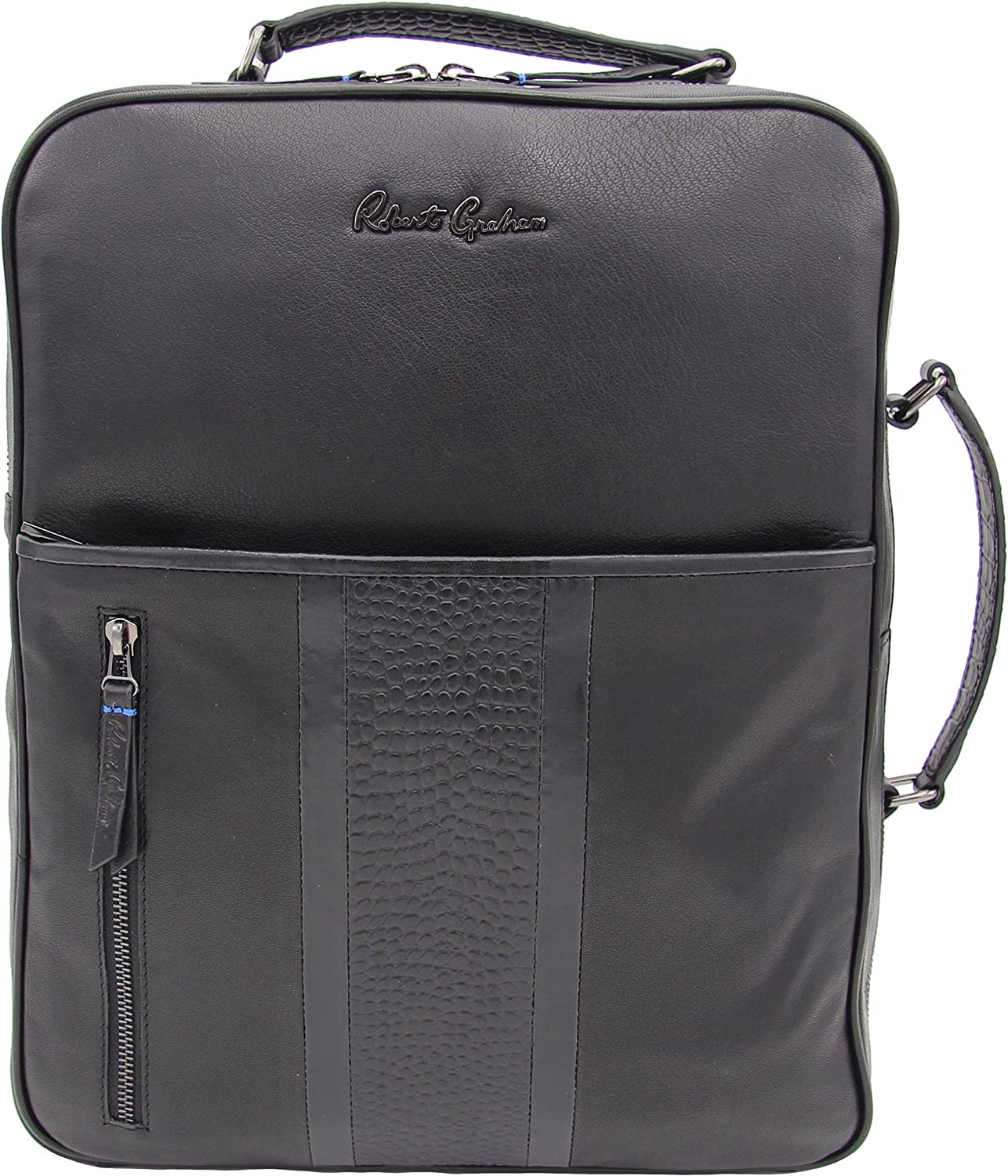 Robert Graham Men's Convertible Backpack Brief Bag