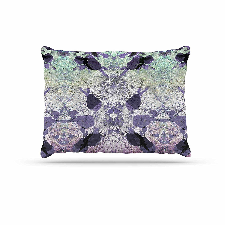 KESS InHouse Debra Obertanec Spring Pinks Floral Digital Dog Bed, 50  x 40