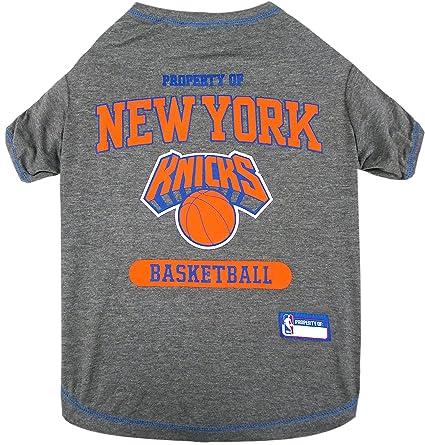 e7ed2036b Amazon.com   NBA New York Knicks T-Shirt for Dog