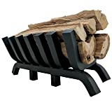 "Titan 24"" 1.25"" Solid Steel Fireplace Grate"