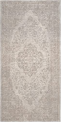 Safavieh Classic Vintage Collection CLV121A Beige Premium Cotton 10 x 14 Area Rug